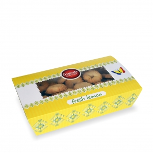 Cookies with lemon