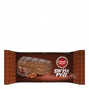 Swiss Roll filled with cocoa cream