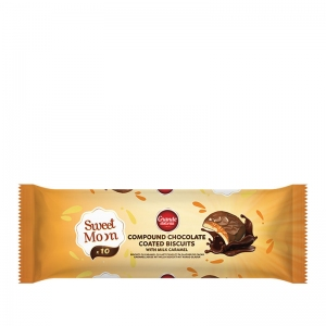 Sweet Moon Compound Chocolate Coated Biscuits