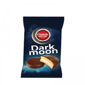 Dark Moon Marshmallow Chocolate Glazed Biscuits