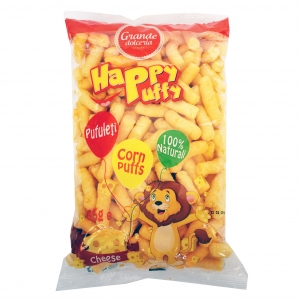 Happy Puffy Corn Sticks with Cheese