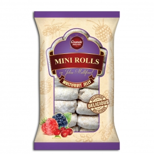 MINI-ROLLS WITH MULTIFRUIT JELLY
