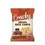 Chips din orez cu aroma de Barbeque
